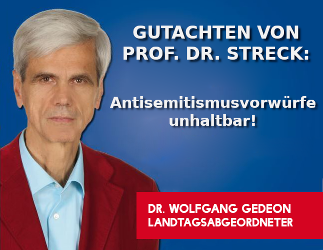 Gutachten Prof. Dr. Streck