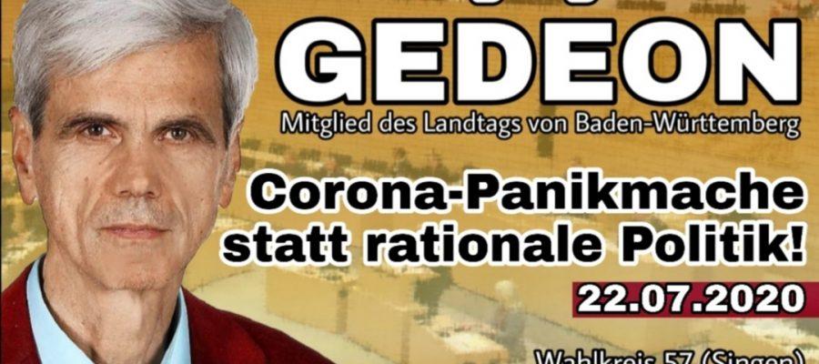 2020 07 22 Corona Panikmache statt rationale Politik. Parlament muss wie ein Ackergaul in die Rennbahn getragen werden
