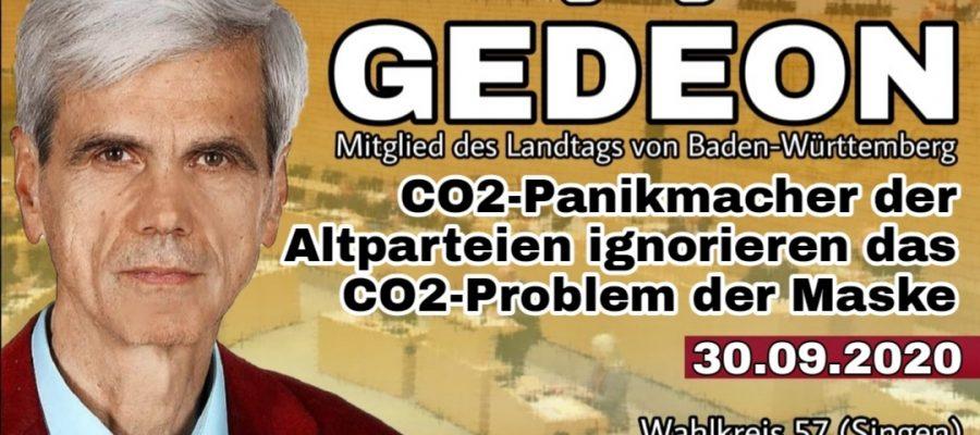 2020 09 30 CO2 Panikmacher der Altparteien ignorieren das CO2 Problem der Maske