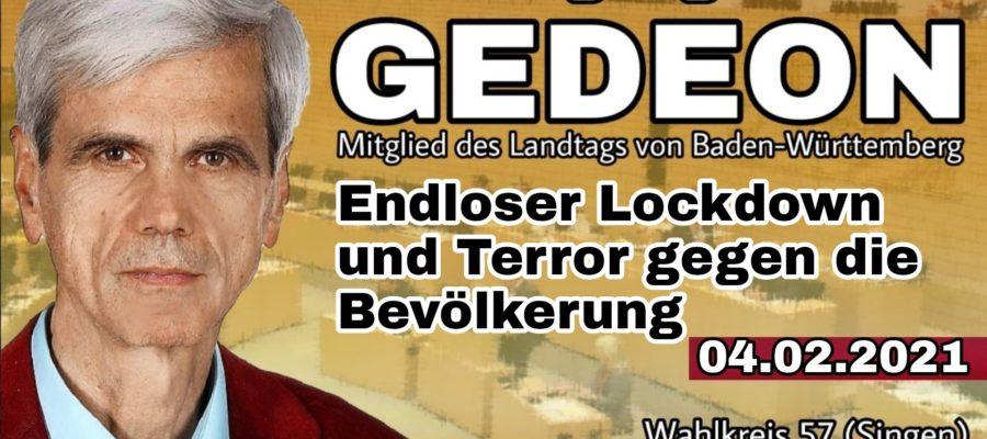 2021 02 04 Endloser Lockdown und Teror gegen die Bevoelkerung