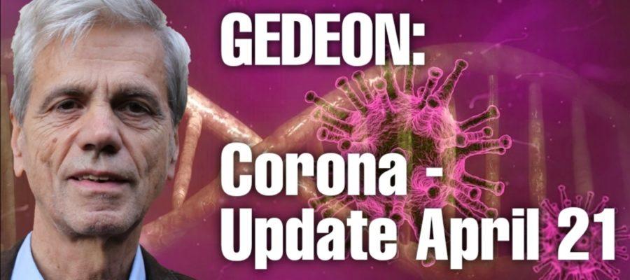 Corona Update April 21